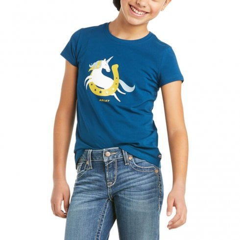 Ariat Kid's Unicorn Moon T-Shirt
