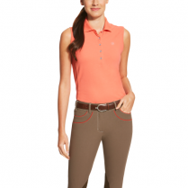 Ladies Sleeveless Polo Shirt
