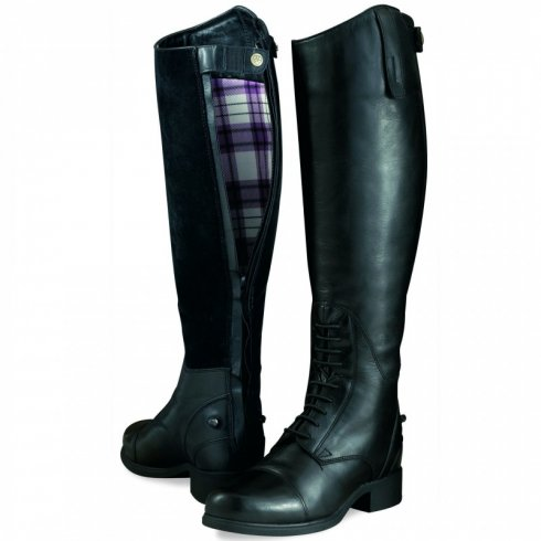 Ariat Women's Bromont Tall H2O Insulated Riding Boots Oiled Black