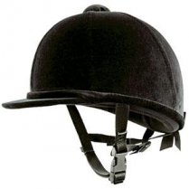 Charles Owen Young Rider Black Velvet Hat