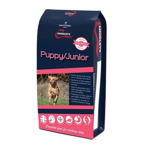 Chudleys Puppy/Junior Dog Food