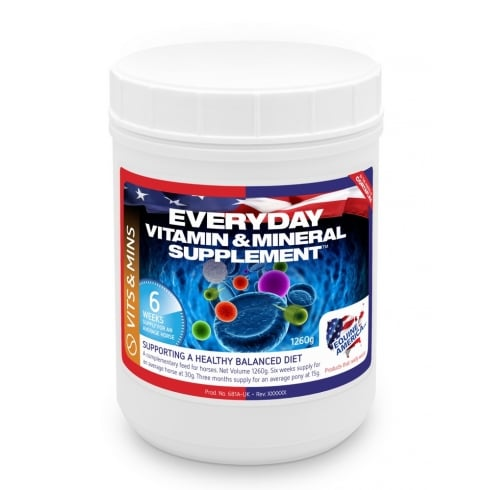 Equine America Everyday Vitamin & Mineral Supplement Pellets