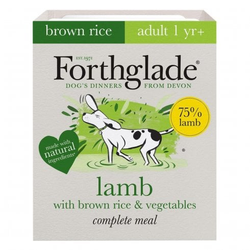 Forthglade Lamb with Brown Rice & Vegetable