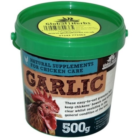 Global Herbs Garlic for Chicken Care