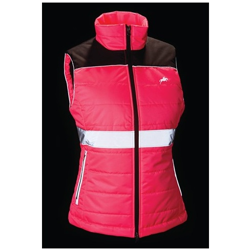 Harry Hall Hi Viz Womens Down Like Gilet