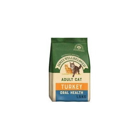 James Wellbeloved Adult Cat Turkey (Oral Health)