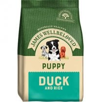 James Wellbeloved Puppy Duck and Rice