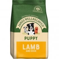 James Wellbeloved Puppy Lamb and Rice