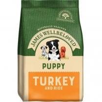 James Wellbeloved Puppy Turkey and Rice
