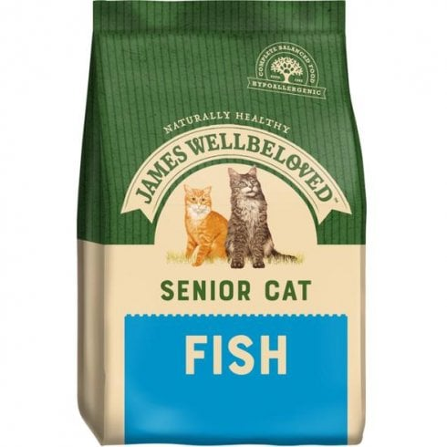 James Wellbeloved Senior Cat Fish and Rice