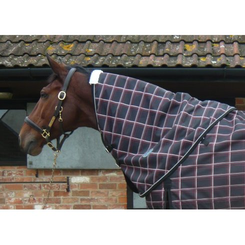 JHL Lightweight Turnout Neck Cover Plaid