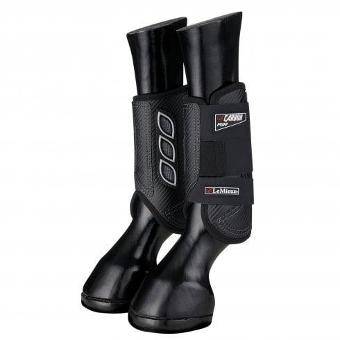 LeMieux carbon airt XC boots front