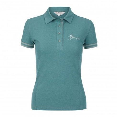 LeMieux polo shirt sage