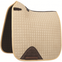 ProSport Suede Dressage Square (D-Ring) Pad