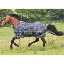 Light Weight Turnout Rug Plaid