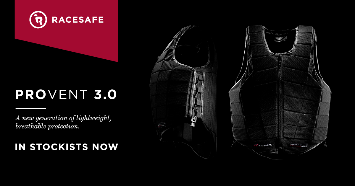 NEW RACESAFE BODY PROTECTOR