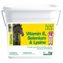 Vitamin E, Selenium & Lysine