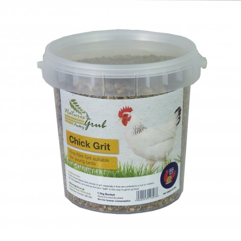 Natures Grub Chick Grit 1.5kg