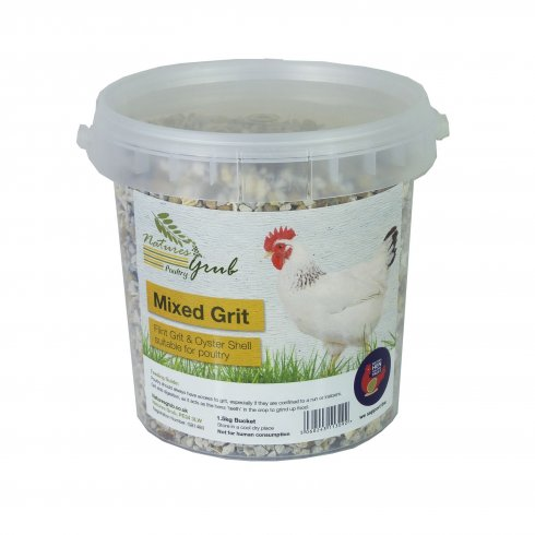 Natures Grub Mixed Grit 1.5kg