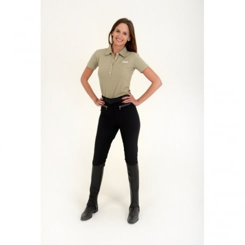Rugged Horse Black Full Seat Breeches C3