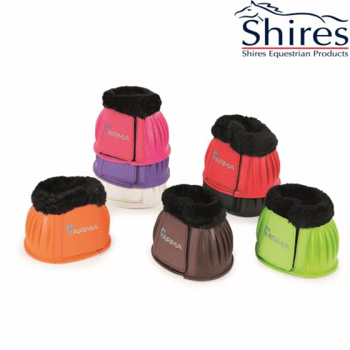Shires Arma Fleece OverReach Boots