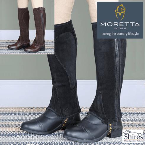 Shires Moretta Suede Half Chaps