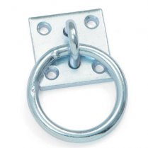 Tie Ring with Plate
