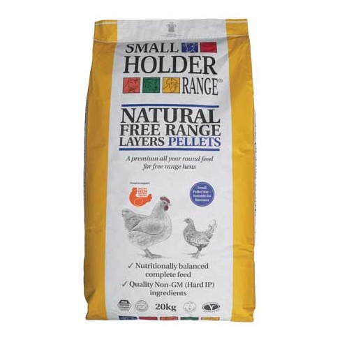 Small Holder Range Natural Free Range Layers Pellets 20KG