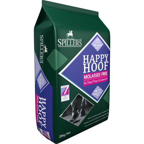 Spillers Happy Hoof Molasses Free