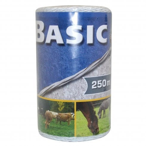 Trilanco basic fencing polywire white