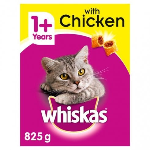 Whiskas 1+ With Chicken Tasty Filled Pockets