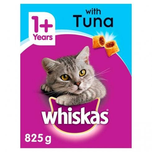 Whiskas 1+ with Tuna Tasty Filled Pockets