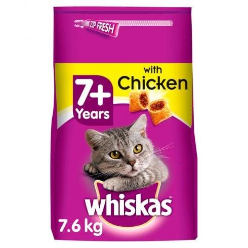 Whiskas 7+ with Chicken Tasty Filled Pocket