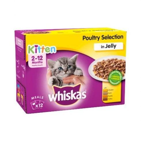 Whiskas Kitten Poultry Selection